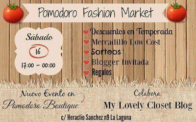 Pomodoro celebra mañana un fashion market en su propia tienda