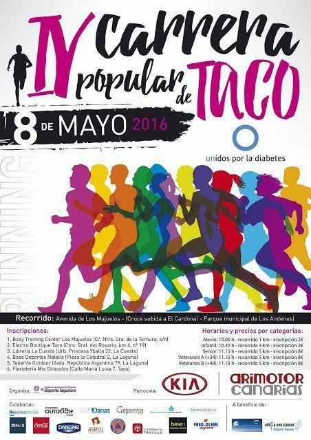 Presentada la IV Carrera popular de Taco