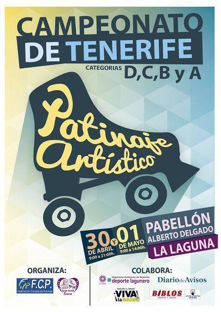 La Laguna acogerá el I Campeonato de Tenerife de Patinaje Artístico