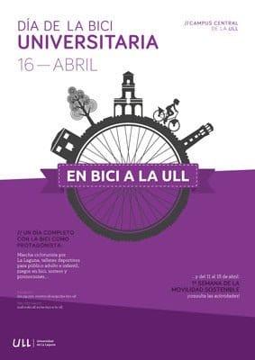 La ULL promueve por tercer año consecutivo el Día de la Bici