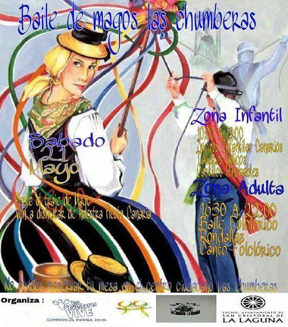 Las Chumberas celebra este sábado su primer Baile de Magos