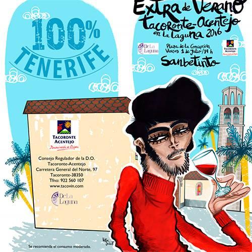 """""""Extra de verano"""" promocionará la D.O. Tacoronte-Acentejo en La Laguna"""
