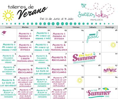 Sueños Lokos ya tiene la programación de los cursos y talleres para este verano
