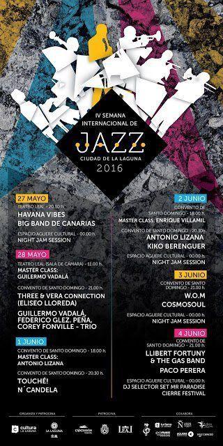 La Laguna inaugura este viernes la IV Semana Internacional de Jazz