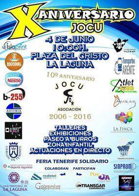 La Asociación JOCU celebra su décimo aniversario con una fiesta en la Plaza del Cristo