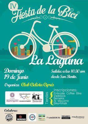 Este domingo se celebra la IV Fiesta de la Bici de La Laguna