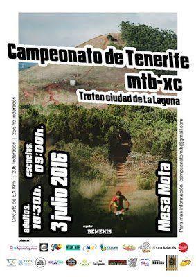 La Mesa Mota acogerá el II Trofeo Bemekis MTB XC Ciudad de La Laguna