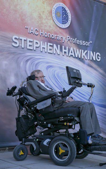 Stephen Hawking se convierte en Profesor Honorario del Instituto de Astrofísica de Canarias