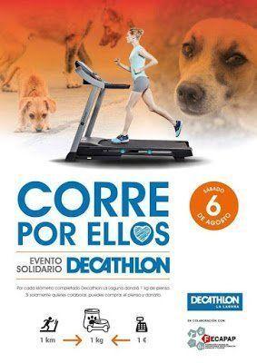Decathlon La Laguna acogerá un evento solidario a favor de los animales