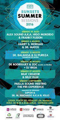 Mañana darán comienzo las Sunsets Summer Sessions en La Punta