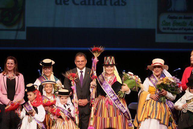 La Laguna elige a la Romera de la 3ª Edad e Infantil de las Fiestas de San Benito Abad 2016
