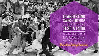 Paradise Swing Canarias estará este domingo en la Calle Bencomo