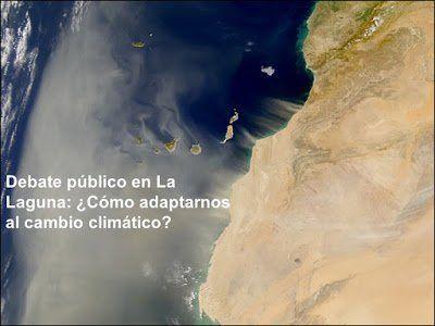 El próximo 31 de octubre se debatirá sobre el cambio climático en el Ateneo de La Laguna