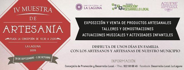 La Plaza de La Concepción alberga desde mañana la IV Muestra de Artesanía