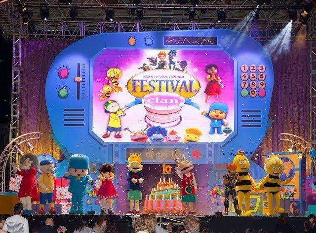 Los personajes del Festival Clan celebran su décimo aniversario mañana en La Laguna