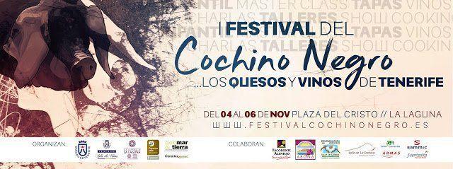 La Laguna será sede este fin de semana de un festival dedicado al cochino negro canario