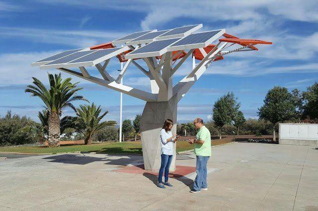 El parque de Las Furnias se convierte en el primer espacio público del municipio con Wifi gratuito