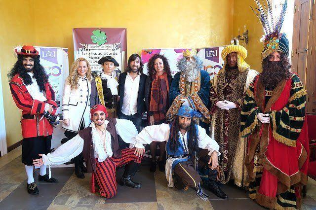 'Piratas al Caribe' vuelve al Teatro Leal acompañado por personajes de Disney y los Reyes Magos de Oriente