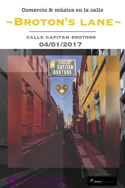 La calle Capitán Brotons de La Laguna se dinamiza con una jornada de comercio y música al aire libre