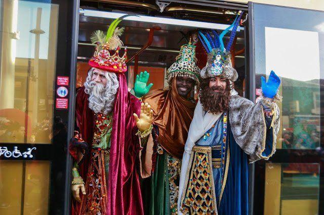 Los Reyes Magos llegan esta tarde a La Laguna