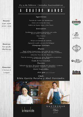Los chefs Abel Ferrándiz y Sibia García organizan una Jornada Gastronómica en el Gastrobar Compartir QBA