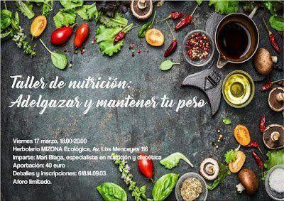 Mizona Ecológica albergará un nuevo taller de nutrición de la mano de Tapasté
