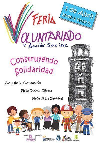 La Laguna celebra este sábado la I Feria del Voluntariado y Acción Social
