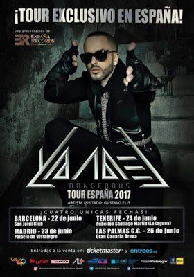 Yandel también actuará en La Laguna