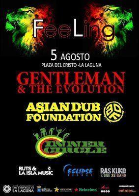La música reggae sonará en la Plaza del Cristo con el Feeling Festival