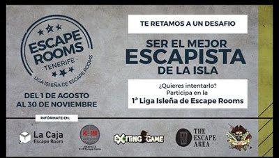 El 1 de agosto arranca la primera Liga Isleña de Escape Rooms