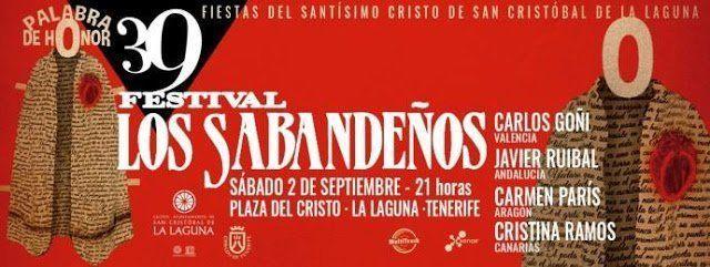 El Festival Sabandeño celebrará este sábado su 39ª edición