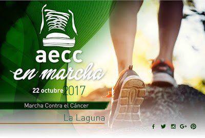 La AECC organiza en La Laguna la Marcha contra el Cáncer