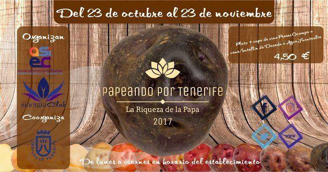 Este lunes arranca una ruta gastronómica con la papa canaria como protagonista