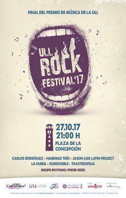 La Plaza de la Concepción acogerá el ULL Rock Festival'17