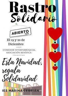 El IES Marina Cebrián celebra su tradicional rastrillo solidario