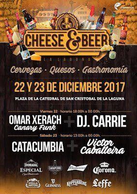 La Laguna alberga un festival de quesos y cervezas antes de Nochebuena
