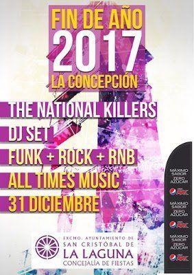 La Laguna cierra el 2017 con fiestas en la Torre de la Concepción y en las plazas de Valle de Guerra, Tejina y el Tranvía, en La Cuesta