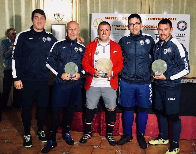 El tacuense Zeben Díaz  se proclama campeón absoluto de España en el Master de Footgolf
