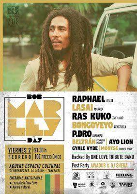 El Bob Marley Day vuelve al Aguere Cultural