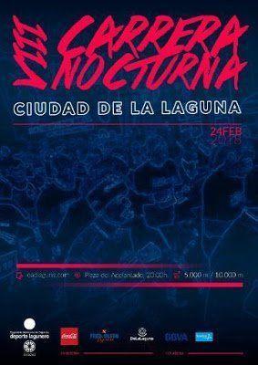 La VIII Carrera Nocturna de La Laguna ya supera los 300 inscritos