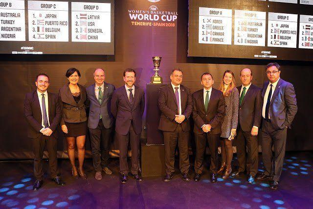 Bélgica, Japón y Puerto Rico será los primeros rivales de la selección femenina de basket en la Copa del Mundo