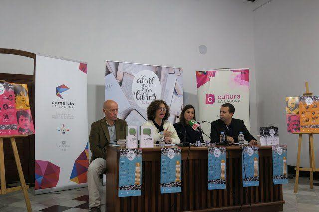 Abril comienza en La Laguna con una suelta de 3.000 libros por las calles del municipio