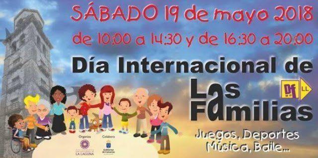 La Laguna celebra este sábado el Día Internacional de las Familias