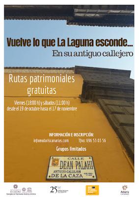 Patrimonio Histórico dedica sus nuevas rutas guiadas a relatar los antiguos nombres de las calles del casco