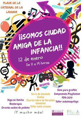La Laguna celebra este sábado en la Plaza de la Catedral una jornada dedicada al público infantil