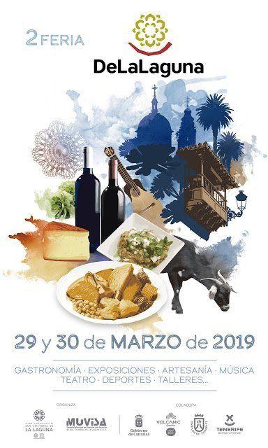 Más de 70 actividades familiares integran el programa de la Feria 'DeLaLaguna' para los días 29 y 30 de marzo