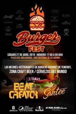 La Laguna acogerá el primer festival de hamburguesas gourmet de Tenerife
