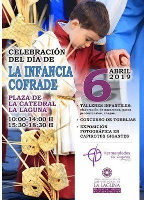 La Laguna celebra este sábado el 'Día de la Infancia Cofrade' con varios talleres y exposiciones