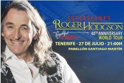 Roger Hodgson actuará este sábado en el Pabellón Santiago Martín