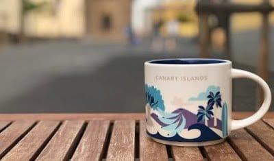 Starbucks presenta su taza más canaria